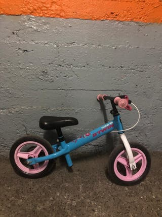Bicicleta aprendizaje niños