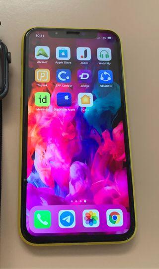 iPhone X plata 64gb