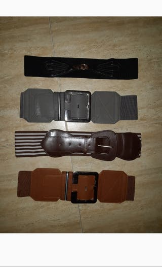 Estrenar pack 36/38/40 cinturones elásticos chica