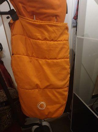 saco bugaboo naranja