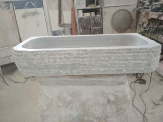 se vende lavabo en piedra natural