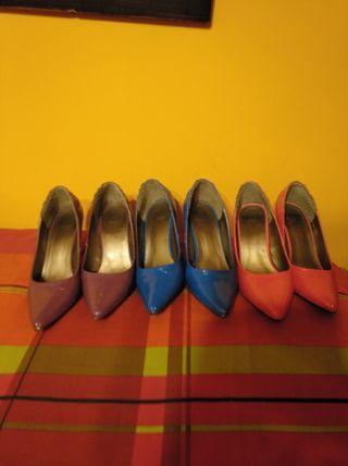 Varios zapatos nuevos
