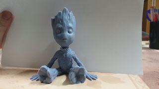 Baby Groot 3D en resina.