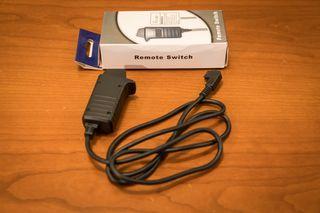 Disparador remoto con cable para Sony alpha