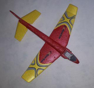Avión planeador de Playmobil