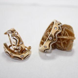 Anillo y pendientes de Oro