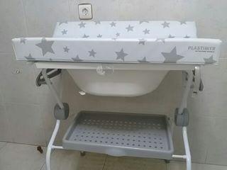 Cambiador bañera bebé