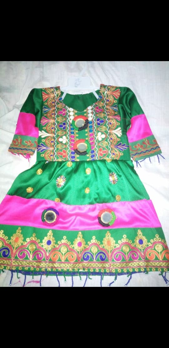 pathan style kids dress