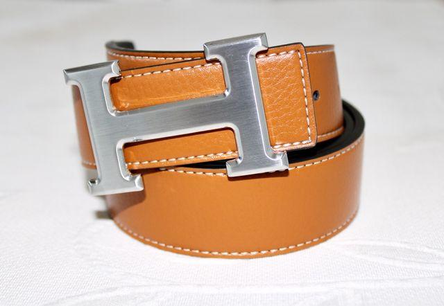 Cinturón reversible cuero estilo Hermes
