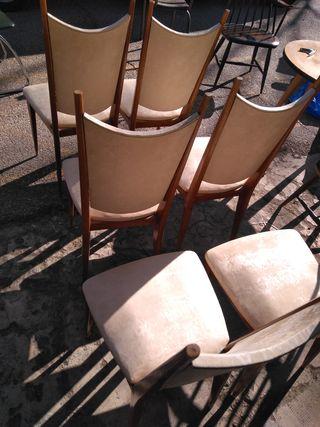 seis sillas francesas