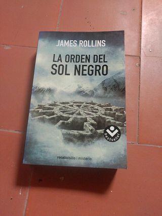 la orden del sol negro ,novela