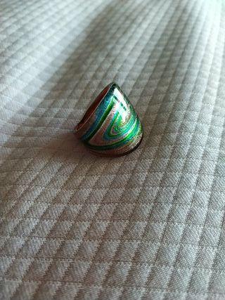 anillo cristal de Murano