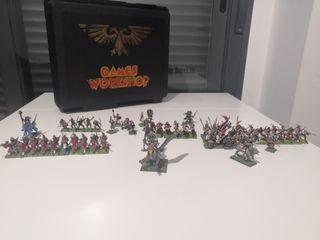 Warhammer fantasia (Ejercito del Imperio) + maleta