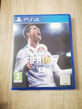 Videojuego PS4 Fifa 18
