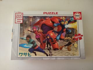puzzle de 200 piezas big hero 6 educa