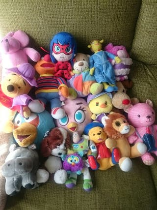 Lote 18 Peluches