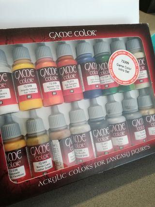 caja de pintura