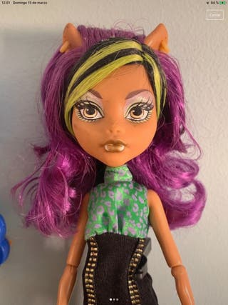 Muñeca Clawdeen Wolf Monster High