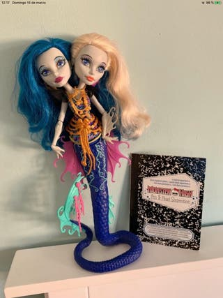 Muñeca Pery y Pearl Serpentine de Monster High