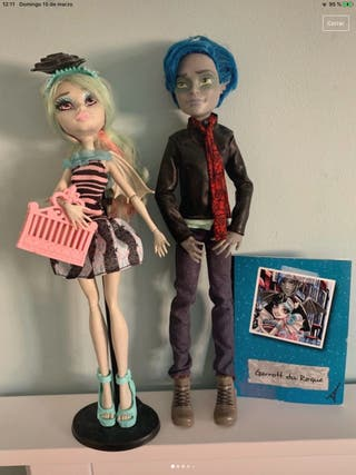 Pack Garrot du Roque y Rochelle Goyle monster high