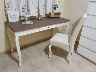 Mesa escritorio estilo retro
