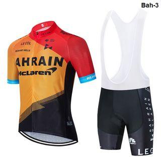 Equipación ciclismo verano Bahrein-3 t.L,XL