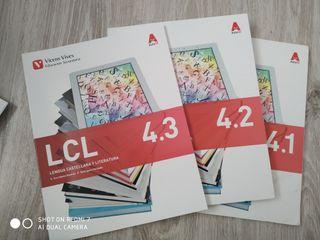Libros lengua castellana y literatura 4 ESO.
