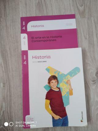 Libro de historia 4 ESO.