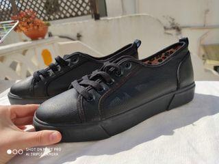Zapatos negros de Bershka