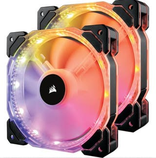 ventiladores RGB corsair de 140 mm