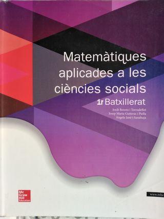 Matemàtiques aplicades a les ciències socials
