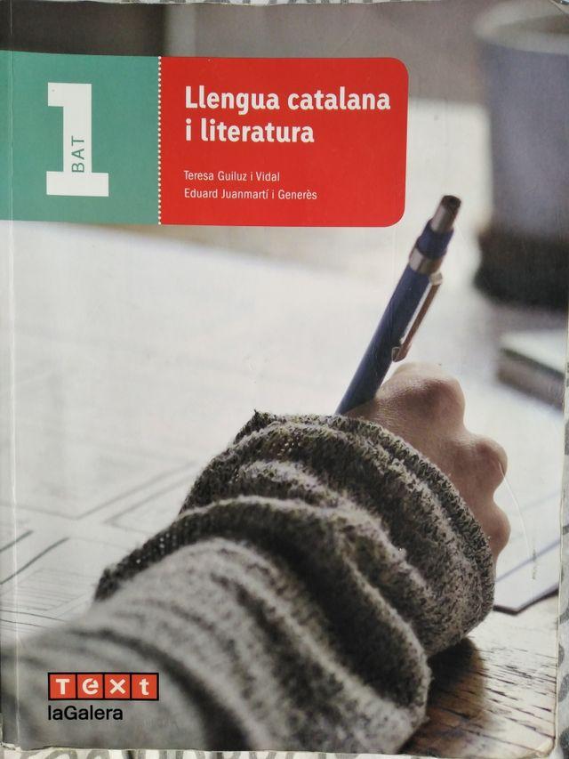 Llengua catalana i literatura 1r de batxillerat