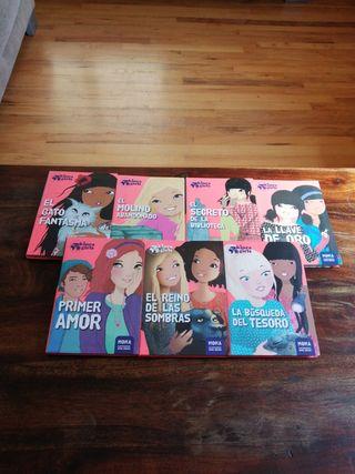 Kinra Girls. Libros de 6 a 8 años. Varios titulos