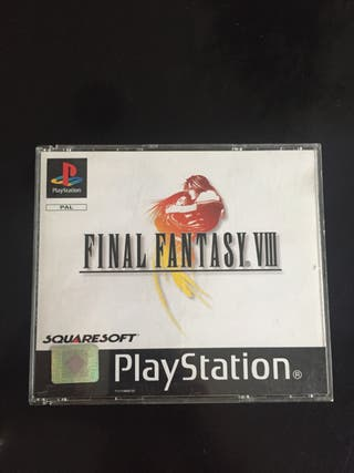 Final Fantasy 8 ps1 pal