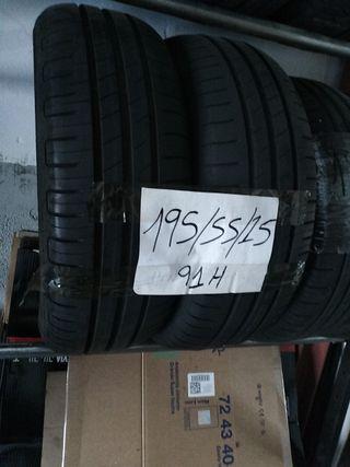 neumáticos 195.55.15.91h