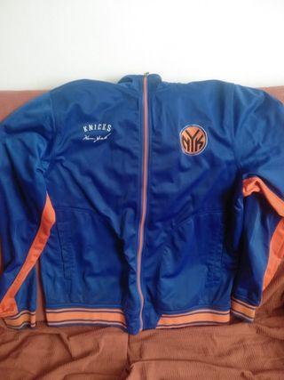 sudadera Knicks NBA zipway XL