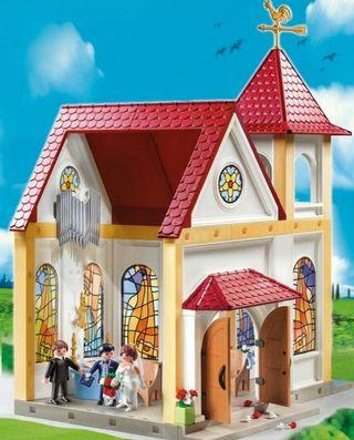 playmobil Iglesia nueva sin abrir ref 5053