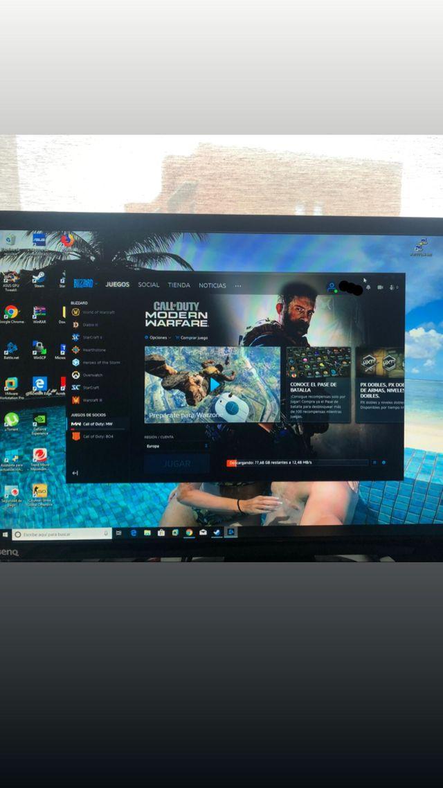 Torre PC - i5 16gb Ram - 480GB SSD - Nvidia GT 710