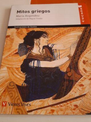 Libro Mitos Griegos Vicens Vives
