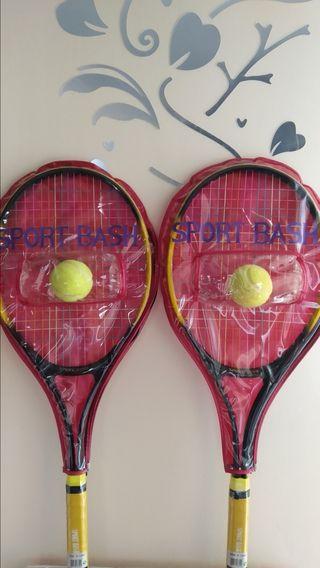 raquetas de tenis niña