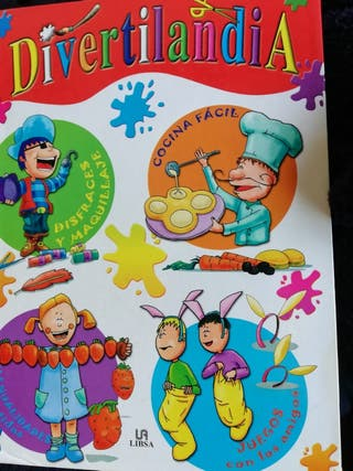 Divertilandia, libro de manuelidades en familia