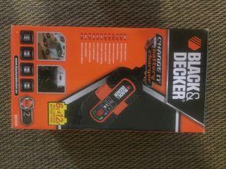 Black Decker BDV090 Cargador De Baterias, 6-12V