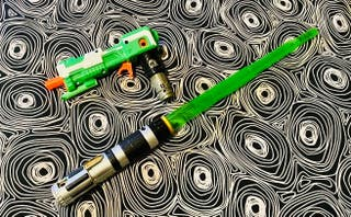 Pistola/espada láser Nerf (Star Wars)