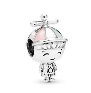 Charm -abalorio niño pulsera de Pandora plata 925