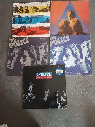Lote disco vinilo Police