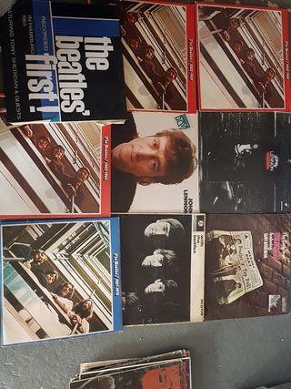 Lote 22 discos vinilos Beatles
