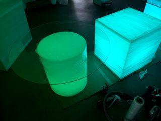 Muebles en polietileno resina plastica