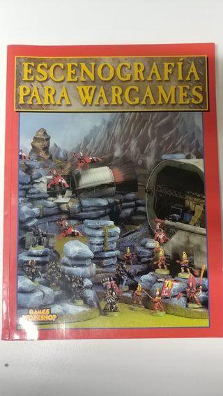 Libro escenografía Warhammer
