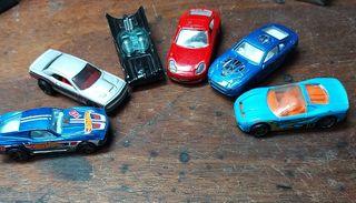 lote de 6 coches