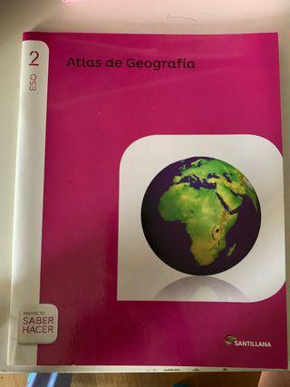 Libro atlas de geografía de 2 eso